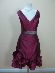 Impression Bridal Plum/Mocha 20040 Dress