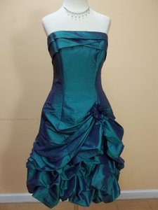 Impression Bridal Teal 20044 Dress