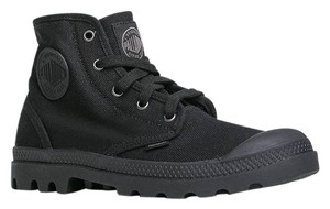 Palladium Hightop Canvas Casual Black Athletic
