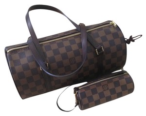 Louis Vuitton Canvas Satchel in Damier