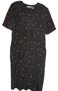 Liz Claiborne short dress Black and multi color on Tradesy