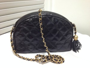Chanel Lizard Cross Body Bag
