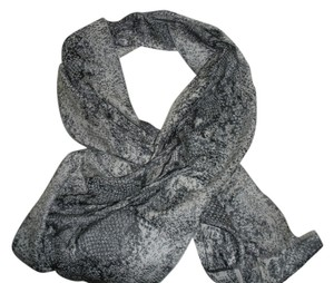 Cashminx Grey and Black scarf
