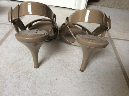 Banana Republic Slingback Patent Leather Clay Sandals