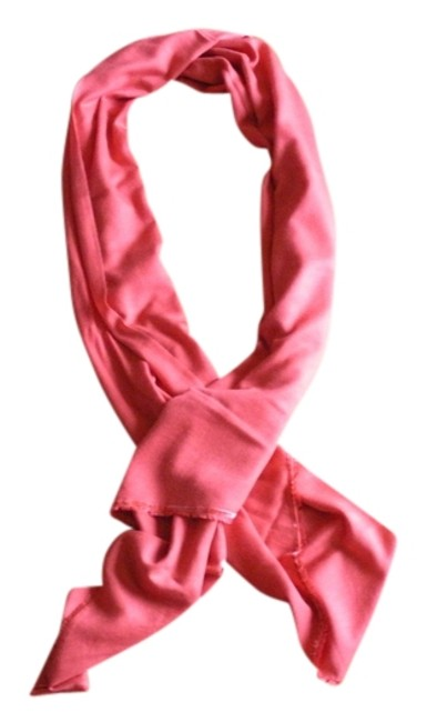 Item - Coral Cashmere and Silk Scarf/Wrap