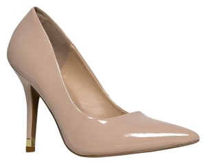 Qupid Beige Pumps