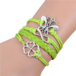 Handmade Charms Leather Bracelets