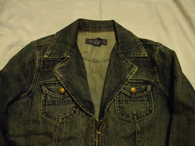 Baccini denim Womens Jean Jacket Image 1
