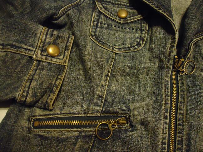 Baccini denim Womens Jean Jacket Image 3