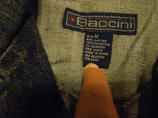 Baccini denim Womens Jean Jacket Image 4