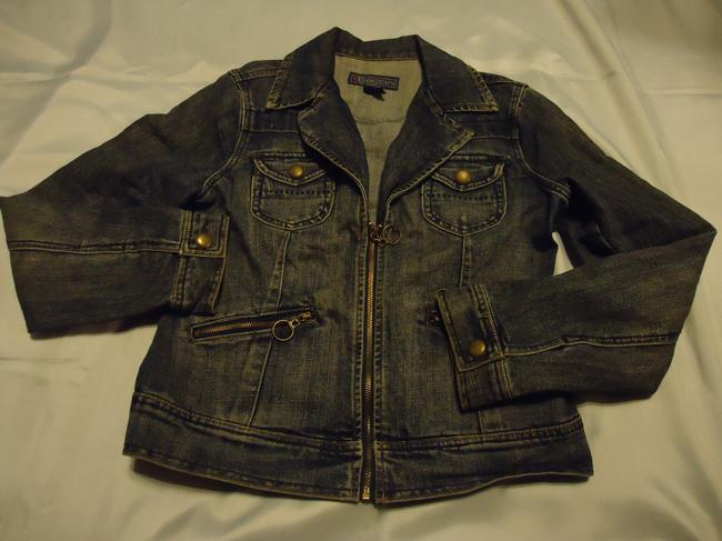 Baccini denim Womens Jean Jacket Image 5