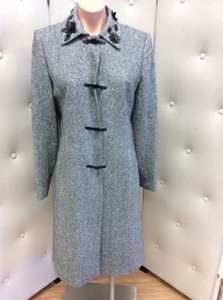 Kay Unger Long Womens Jacket Pea Coat