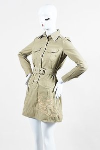 RED Valentino short dress Beige Khaki on Tradesy