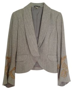 Peter Nygard Soft Gray Blazer