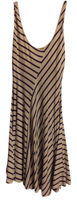 Preload https://item5.tradesy.com/images/bebe-dress-navy-and-white-striped-1217064-0-0.jpg?width=400&height=650