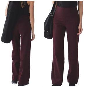 Lululemon New With Tags Lululemon Stillness Pants Bordeaux Size 4