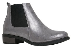 Dirty Laundry Silver Boots