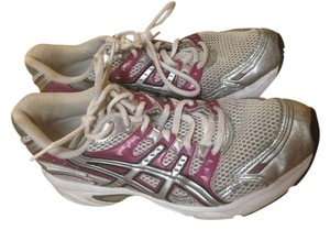 Asics Grey/Silver with Purple Athletic
