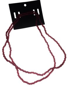 H&M H&m new with tag pink fuchsia double necklace