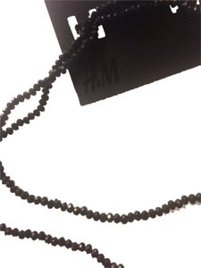H&M H&m new with tag black double necklace