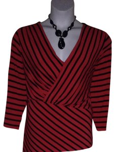 Vince Camuto Top Red And Black