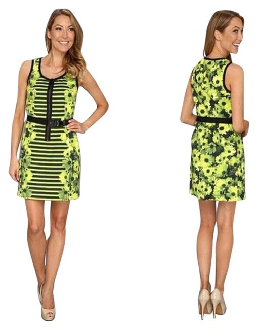 Preload https://img-static.tradesy.com/item/1217441/michael-kors-floral-print-belt-and-12-above-knee-workoffice-dress-size-8-m-0-0-650-650.jpg