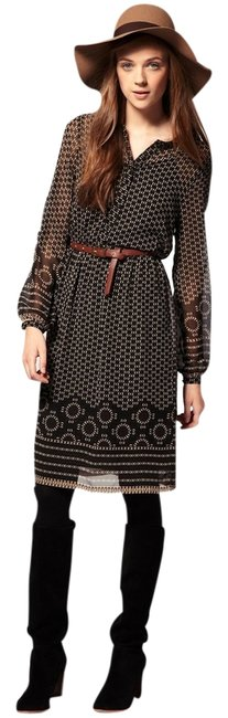 ASOS short dress Brown and Black Multi Fall Day on Tradesy