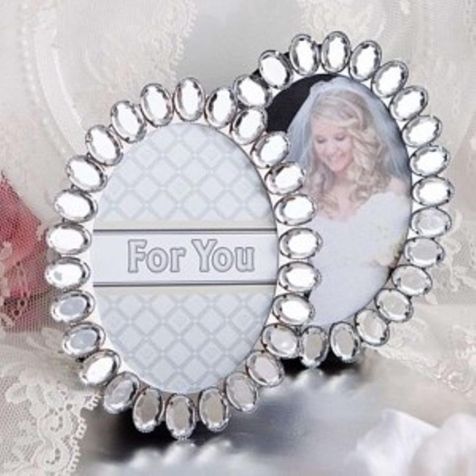 Silver/Clear 30 Bling Place Card Holders To 60606 Wedding Favors ...