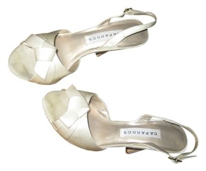 Caparros Weddings Satin White Formal
