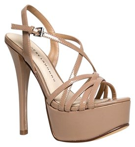 Chinese Laundry Cutouts Beige Sandals