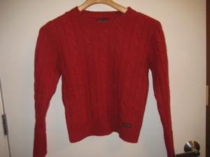 Abercrombie & Fitch Wool Cableknit Sweater