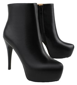 N.Y.L.A. Midcalf Stiletto Leather Tan Boots