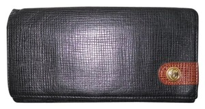 Charriol Philippe Charriol leather check book wallet