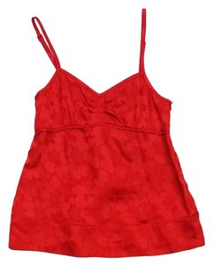 Marc by Marc Jacobs Red Heart Print Silk Top
