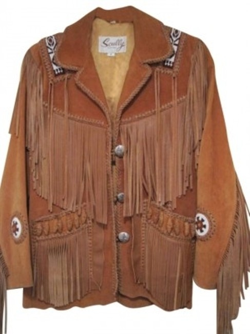 Item - Brown Name: Suede and Western Jacket Size 6 (S)