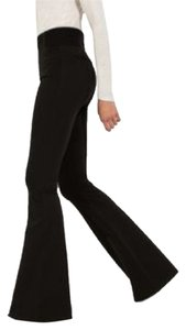 Kit and Ace Super Flare Pants Blac