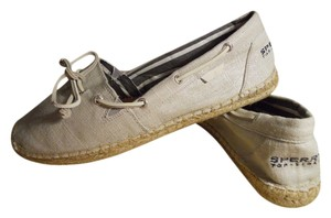 Sperry natural Flats