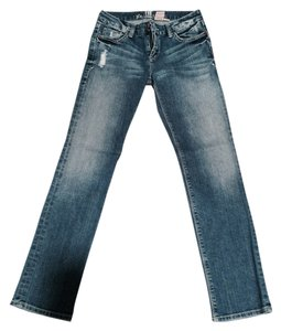 !iT Jeans Straight Leg Jeans-Medium Wash