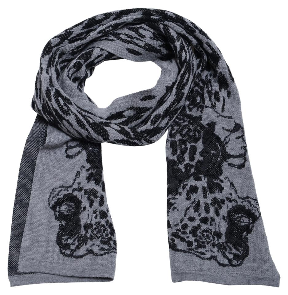 215dad2d5c8 Just Cavalli Just Cavalli Unisex 100% Wool Multi-Color Knitted Long Scarf  Image 0 ...