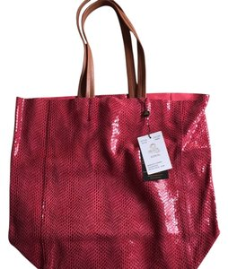Sorial Tote in Cherry/Red