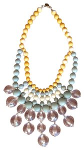 Anthropologie Sunrise Bib necklace
