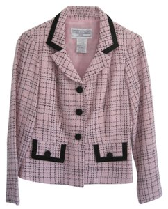 Jessica Howard Suit Pink with black Blazer
