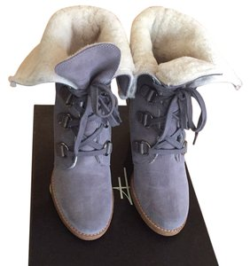 Cole Haan Waterproof Nike Air Gray Ironstone Suede Boots