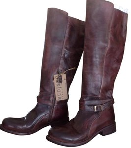 Bed|Stü Riding Leather Cobbler Cognac Boots