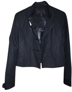 BCBGMAXAZRIA Button Down Shirt dark blue