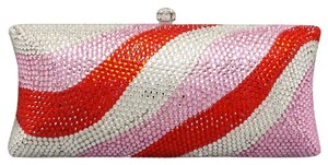 Other Multicolor Pink, Red, Clear, Rhodium/silver Clutch