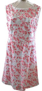 Laundry by Shelli Segal short dress Pink/White on Tradesy