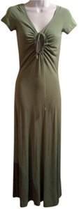 light moss green Maxi Dress by Jean-Paul Gaultier