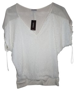 Express Top Ivory White