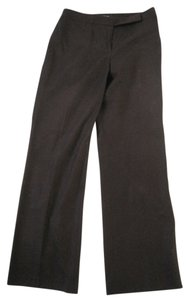 Ann Taylor Relaxed Pants Dark Cranberry